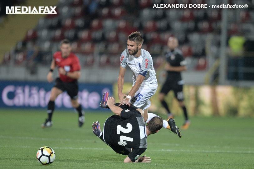 """1-1 pentru Dinamo! Viitorul nu poate învinge Astra şi prima bătălie pentru playoff e la mâna """"câinilor"""". Ianis, debut cu bară, Matei, debut cu gol"""