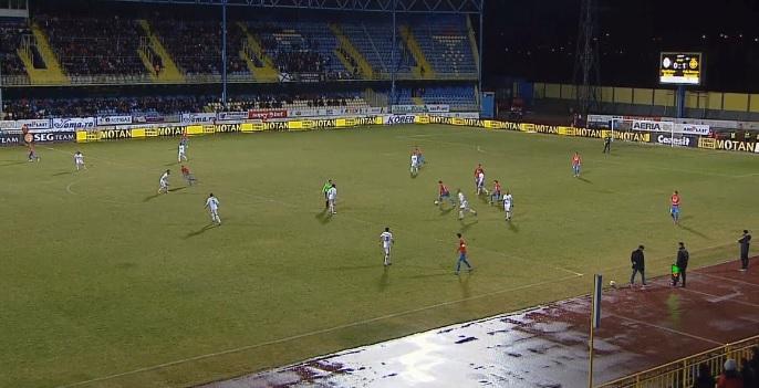 """Gol neregulamentar marcat de FCSB la Mediaş. Verdictul clar al specialiştilor: """"Arbitrul a greşit grav! Orice comentariu e de prisos"""""""