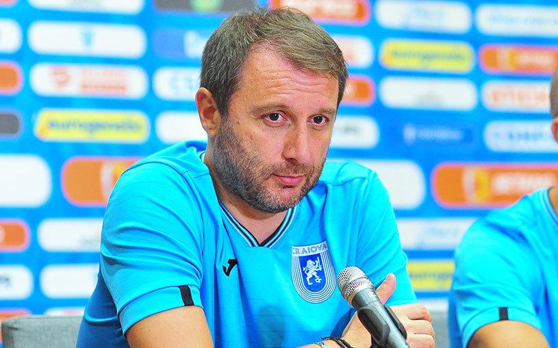 """Mangia are probleme cu alegerea tridentului ofensiv: """"Am patru atacanţi în mare formă"""". Italianul are şi un mesaj pentru suporterii care cred că CS U nu poate pierde la Craiova"""
