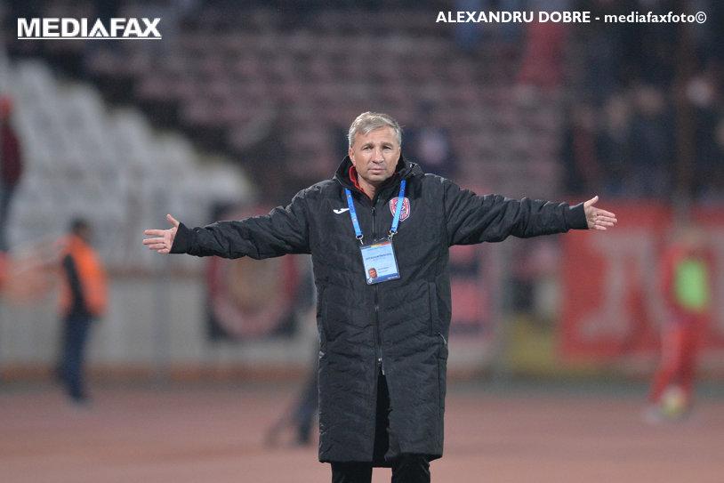 """Probleme pentru CFR înainte de derby-ul cu FCSB. Dan Petrescu nu s-a putut ascunde: """"Am făcut antrenament în sală. Trei jucători nu s-au prezentat"""""""