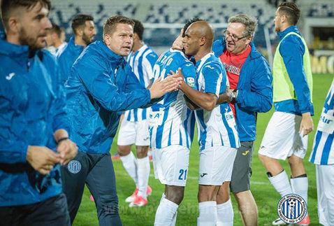 CSM Poli Iaşi - FC Botoşani 1-0. Cristea a marcat unicul gol şi trupa din Copou e în play-off!