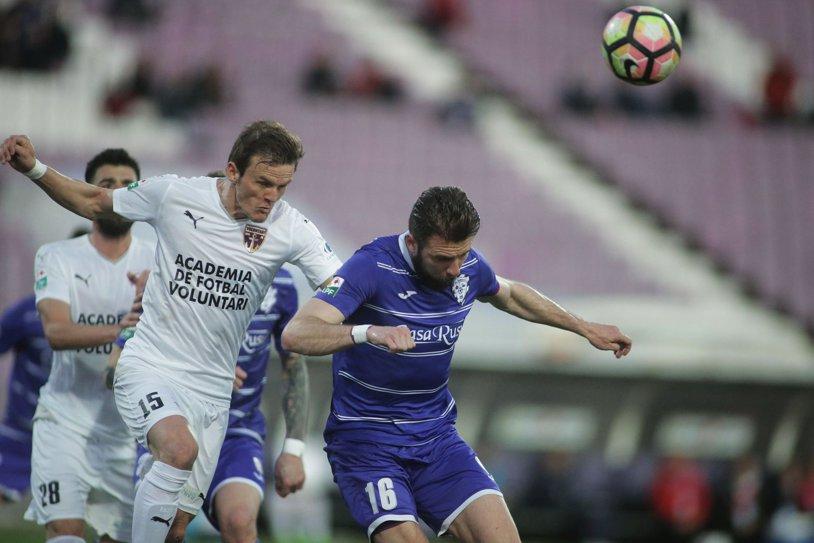 ACS Poli - FC Voluntari 2-3. Victorie dramatică obţinută de elevii lui Niculescu! Voicu a înscris spectaculos, Bălan a ratat un penalty!