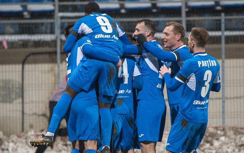 Nebunie în Copou! Iaşiul, tot mai aproape de play-off după ce a câştigat derby-ul Moldovei cu FC Botoşani
