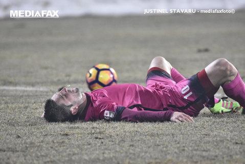 """Andrei Cristea a atins borna celor de 90 de goluri în Liga 1: """"Sunt naşul lor!"""" Soarta atacantului a fost decisă la începutul sezonului de omul care poate produce surpriza în campionat"""