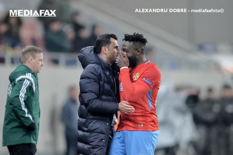 """Fără Gnohere şi Alibec, Dică anunţă: """"Vor fi schimbări faţă de meciul cu Lazio"""". Antrenorul FCSB atrage atenţia: """"Obiectivul e să câştigăm campionatul!"""""""