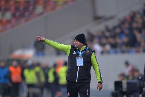 """Miriuţă, devastat: """"Nu aveam voie să primim gol în ultimele secunde ale meciului"""". Antrenorul îşi obligă elevii să câştige cu Astra"""