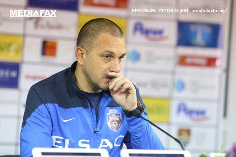 """Costel Enache nu lasă jos ştacheta: """"Cupa României şi locul şapte sunt noile noastre obiective"""""""