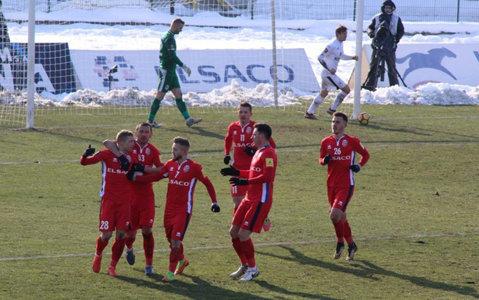 FC Botoşani - Gaz Metan 1-0. Mihai Roman a marcat, din penalty, şi a pus o presiune suplimentară pe Dinamo