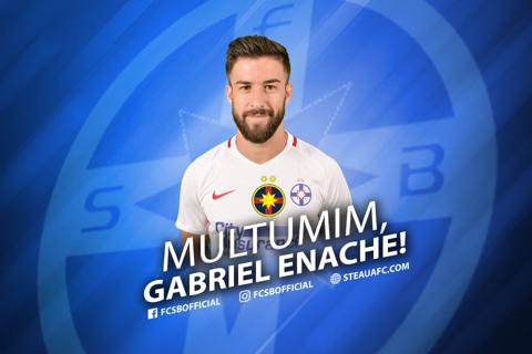 """""""Ignore"""" pentru fani. Mesajul lui Gabi Enache la despărţirea de FCSB"""