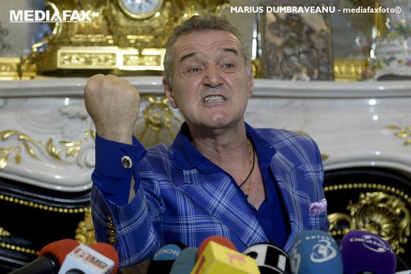 """Gigi Becali tună la adresa CFR-ului. Îi acuză pe rivali că au puncte nemeritate şi-l desfiinţează pe Dan Petrescu. """"Viermele discordiei lucrează, iar la primul eşec intră dihonia"""""""