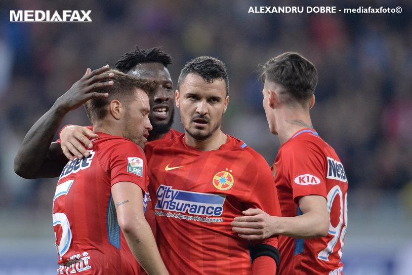 Continuă lupta în trei! Budescu a dirijat o nouă victorie a FCSB-ului în faţa Viitorului. Cronica meciului de pe Arena Naţională