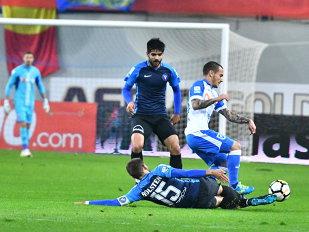 """""""Leii"""" fură laşi! Zlatinski a ratat un penalty, oltenii au jucat cu un om în plus pe final, dar au """"reuşit"""" să termine meciul fără şut pe poartă. Viitorul - CS U Craiova 0-0"""