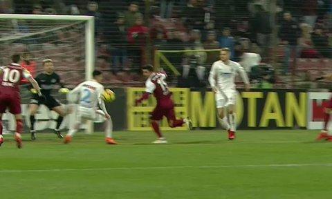 Crăciunescu şi Balaj, verdict identic pentru faza la care Haţegan a acordat penalty!