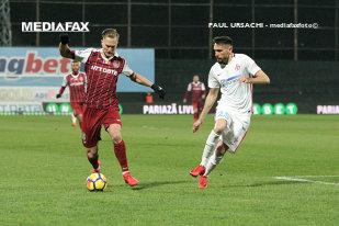 Gnohere, salvarea lui Dică. CFR - FCSB 1-1, după un derby cu două roşii, un penalty şi un gol în prelungiri. Cronica meciului
