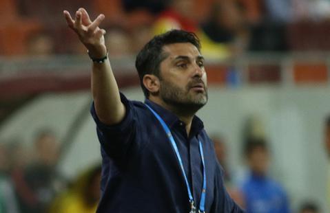"""Niculescu acuză arbitrul: """"Primul penalty nu a fost absolut deloc!"""". """"Clau-gol"""" a lăudat atmosfera de la Sfântu Gheorghe: """"Mi-a plăcut"""""""