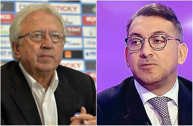 """Dialog amuzant între Ilie Dumitrescu şi Marcel Popescu, în direct la TV! """"Ce a păţit Băluţă? Ne vorbiţi despre Juventus şi Real"""" vs """"Staţi, domnule, că nu mă forţaţi să vă spun. A fugit copilul de la şcoală"""""""