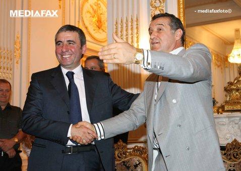 """Hagi nu s-a putut abţine şi i-a transmis un mesaj dur lui Becali, la conferinţa de presă: """"A crezut că asta e tot"""". """"Regele"""", dezlănţuit: """"Mi-ai luat doar un deget!"""""""