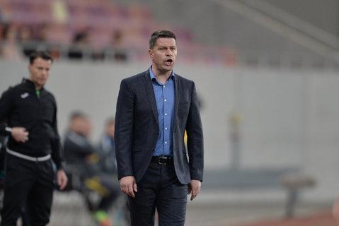 """Reacţia lui Flavius Stoican după remiza cu CFR Cluj: """"Un meci echilibrat, un rezultat echitabil"""""""