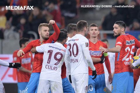 """FCSB şi CFR vor arbitri străini la derby! """"Suntem de acord"""". Ardelenii pun, însă, condiţii. Prima reacţie din Gruia"""