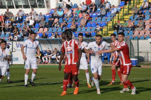 FC Botoşani - Sepsi Sfântu Gheorghe 2-2. Gazdele au luat un punct în ultimele secunde ale meciului
