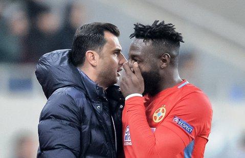 CULISE | Fantoma lui Becali îl bântuie pe Dică. Antrenorul îl vrea pe Gnohere, patronul îl vrea pe Alibec. Cine trebuie să joace în meciul cu CFR Cluj?