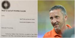 """Gata cu fotbalul, haideţi la Comisii! FCSB cere depunctarea celor de la CFR, suspendarea şi amendarea lui Dan Petrescu! FOTO   Plângerea făcută cu o zi înainte de verdictul în """"cazul Becali"""""""