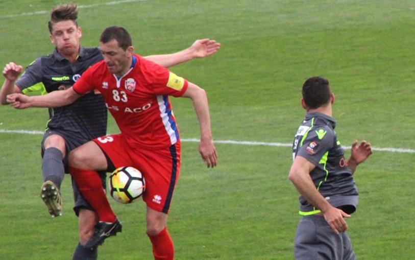 """Dinamo s-a impus cu 2-0 în """"derby-ul"""" play-out-ului. Salomao aduce victoria pentru trupa lui Bratu"""