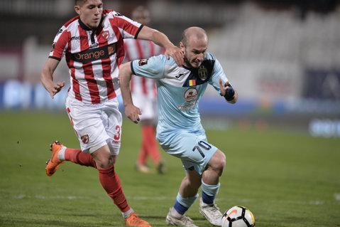 """Juventus Bucureşti - Dinamo 0-2. Mihai Popescu şi Nistor au adus victoria """"câinilor"""""""