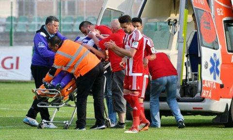 Ultimele veşti despre starea medicală a lui Haruţ! Puştiul celor de la Timişoara a fost victima unei accidentări îngrozitoare în meciul cu Sepsi