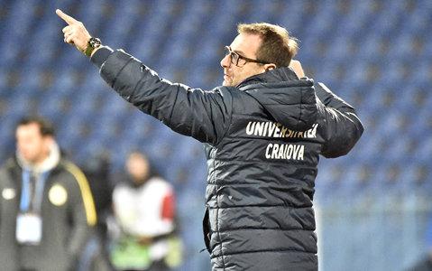 """Mangia va folosi cea mai bună echipă la Iaşi. Craiova speră să-şi îndeplinească în ultima etapă obiectivul: """"Nu vreau să transmit echipei mesajul greşit"""""""