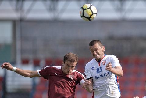 FC Voluntari - FC Botoşani 1-1. Ilfovenii rămân pe loc de baraj. Oaspeţii au jucat pentru a doua etapă la rând în superioritate numerică, dar n-au reuşit să profite