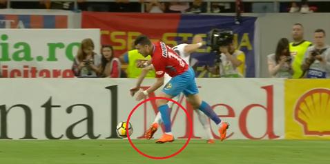 """Avram i-a refuzat FCSB-ului un penalty. Verdictul lui Crăciunescu: """"Nu e prima dată când nu vede"""""""