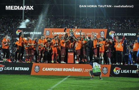 VIDEO | CFR-iştii au sărbătorit titlul pe acorduri de Champions League şi manele!