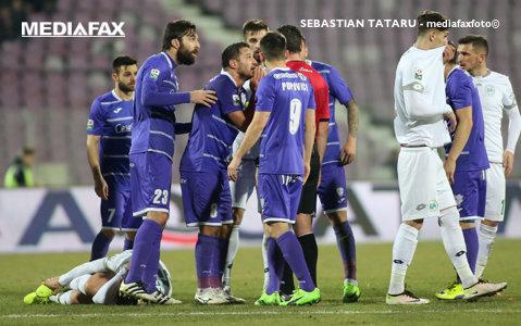 """ACS Poli pare un """"gladiator"""" tot mai aproape de deces. Alb-violeţii au făcut o remiză nulă cu FC Botoşani, după un meci cu multe ocazii"""
