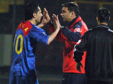Cum l-a descris Olăroiu pe Dică, la finalul primului sezon ca antrenor în Liga 1. Oli, doar cuvinte mari pentru Dan Petrescu