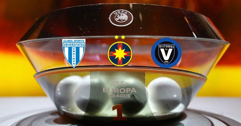Traseul european e definitivat! Craiova merge în turul III al Ligii Europa unde o aşteaptă Zenit, Sevilla sau Olympiakos. FCSB pleacă la drum din turul II, dar va fi cap de serie. Misiune dificilă şi pentru Viitorul
