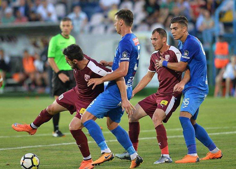 FC Voluntari rămâne în Liga 1! Barajul s-a decis la loviturile de departajare, unde Chindia a ratat de fiecare dată
