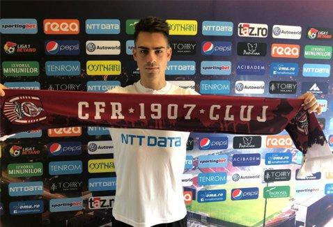 OFICIAL | CFR Cluj a realizat al doilea transfer al verii! Un fundaş de naţională a aterizat în Gruia