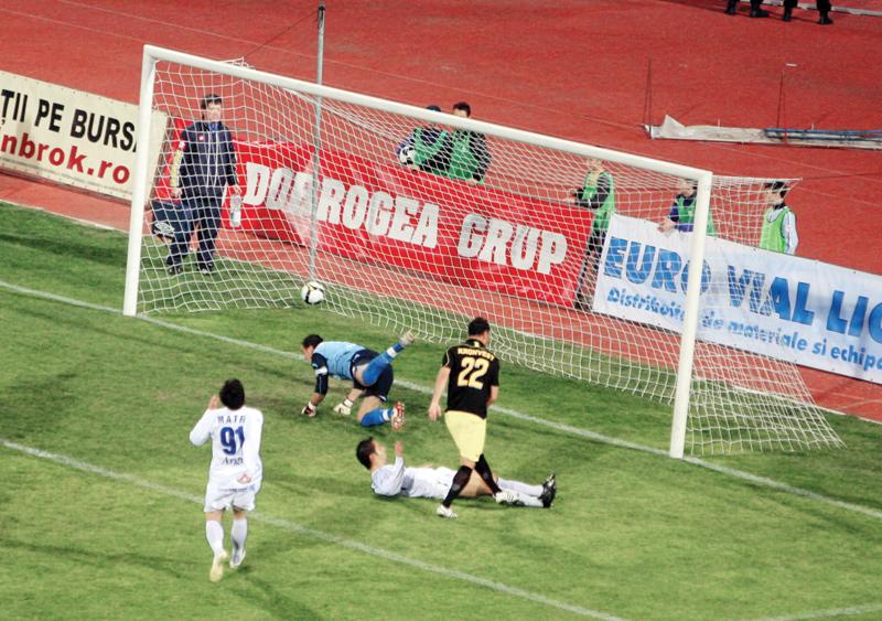 Un minut de fotbal şi două goluri, la Constanţa