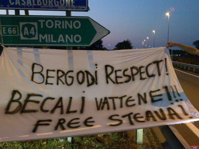 """Din Italia până la Oradea şi Rădăuţi: """"Becali, peacă din Ghencea!"""" Vezi aici imagini!"""