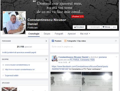 """FC Farul se pregăteşte de un nou proiect: """"Se semnează actele prin care Consiliul Judeţean va prelua 51% din acţiuni. Nicuşor Constantinescu va fi preşedintele C.A."""". Petre Grigoraş e în joc de glezne"""