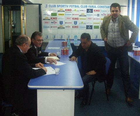 """FC Farul va fi sprijinit de Consiliul Judeţean. """"Marinarii"""" aşteaptă aprobarea proiectului """"Constanţa se pune în mişcare. Fotbal pentru sufletul Dobrogei"""" pentru a visa din nou la Liga 1"""