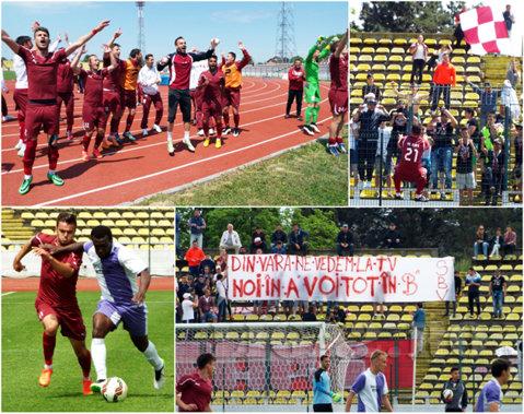 Piteştiul şi-a luat gândul de la Liga 1! FC Voluntari şi-a demonstrat superioritatea cu Academica şi nu mai poate pierde promovarea