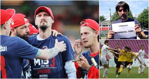 Fotbalul timişorean e alături de Marian Cisovsky. Dan Alexa i-a transmis un mesaj de încurajare fostului coleg