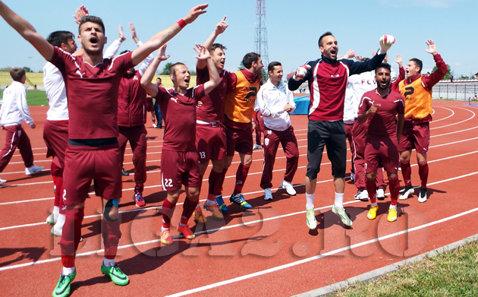 FC Voluntari a intrat în istoria fotbalului românesc. Doar 11 echipe se pot lăuda cu o astfel de performanţă. Timişoara e şi ea pe scurta listă