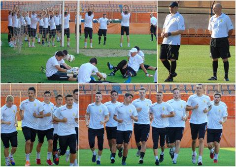 Cea mai lungă vacanţă din istoria clubului Ceahlăul a luat sfârşit! Costel Ilie a dat start pregătirii pentru Liga 2