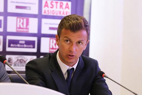 Ovidiu Burcă, noul preşedinte al Rapidului! Fostul director sportiv al Oţelului a ajuns la un acord cu Valerii Moraru