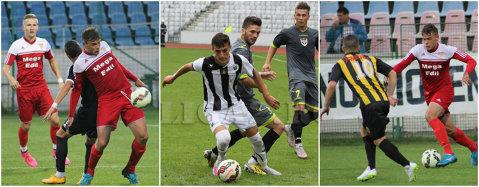 Retrogradatele din Liga 1 se duc ca nişte ghiulele la fundul Ligii 2. Ceahlăul, U Cluj şi Oţelul sunt pe moarte, FC Braşov e pe loc retrogradabil