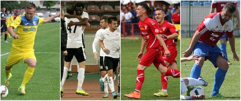 UTA - FC Voluntari şi Gloria Buzău - Olimpia sunt barajele care pun capăt sezonului în Liga 1 şi 2. Când au loc cele patru meciuri decisive
