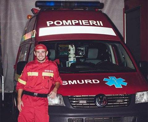"""Fotbalistul paramedic! A debutat în Liga 2 la 17 ani, dar a avut un moment de revelaţie. """"Nu este nimic mai frumos ca atunci când poţi să salvezi viaţa unui om"""""""